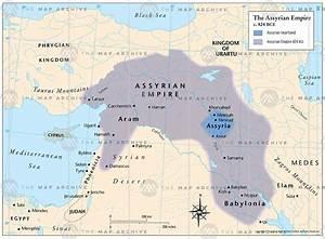 The Assyrian Empire c. 824 BCE