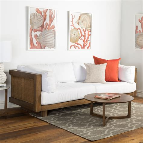 Refine your search for coastal round coffee table. Toledo Sofa | Marble side tables, Sofa frame, Home decor