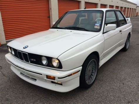 Find Used Bmw E30 M3