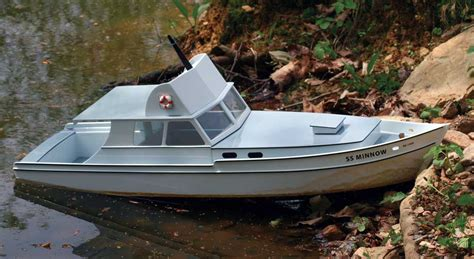 Minnow Boat Bed by Project Scratch Built S S Minnow Rc Boat Magazine