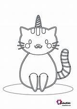 Unicorn Coloring Cat Bubakids Ads Google sketch template