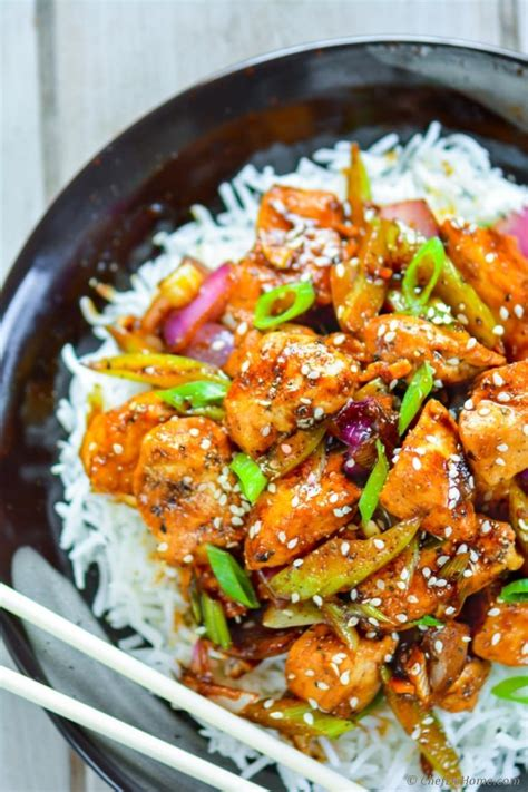 chinese black pepper chicken recipe chefdehomecom