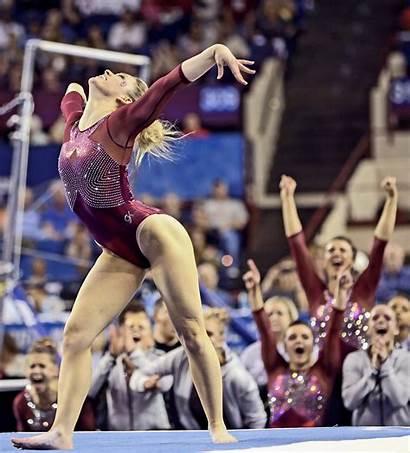 Gymnastics Oklahoma Female Gymnast Championships Scaman Haley