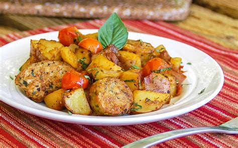 sauge cuisine easy one skillet meal hearty sausage and potatoes