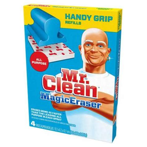 Mr Clean Bathroom Cleaner Discontinued by Mr Clean Magic Eraser Handi Grip All Purpose Refillls 4