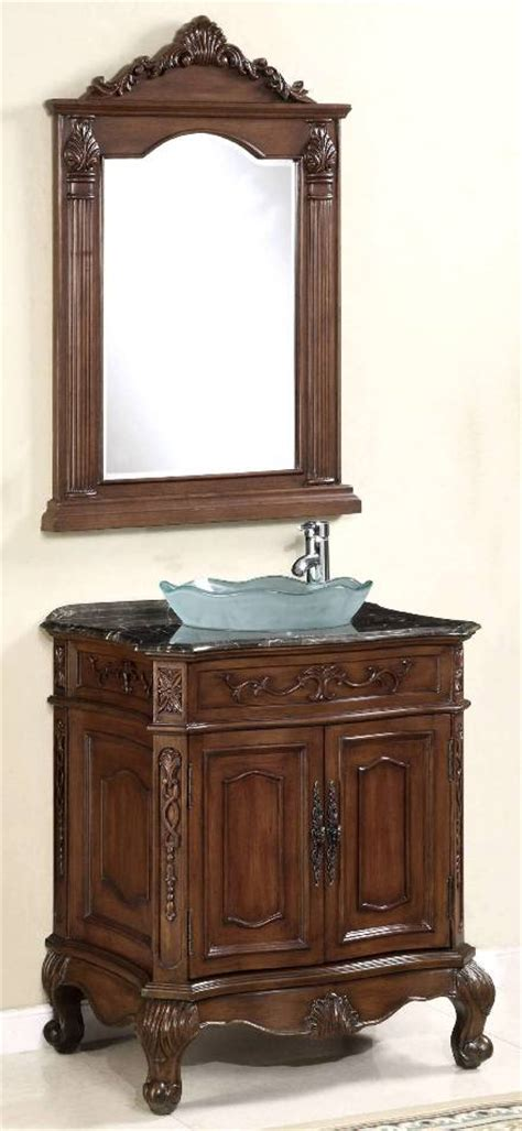27inch vanity semi drop in sink cabinet with