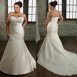 plus size strapless wedding dress mermaid style sang maestro With plus size mermaid wedding dresses