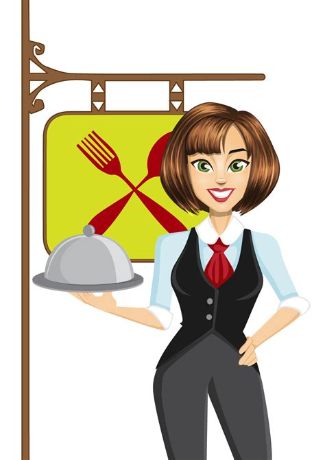Waitress clipart 20 free Cliparts | Download images on ...