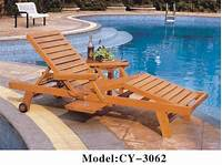 swimming pool furniture Swimming Pool Lounger - Wooden Pool Chair Manufacturer from Mumbai