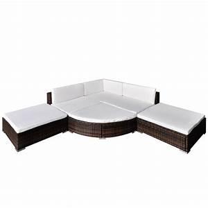 Rattan Lounge Set Braun : der gartenm bel poly rattan set lounge sitzgruppe braun 16 teilig online shop ~ Bigdaddyawards.com Haus und Dekorationen