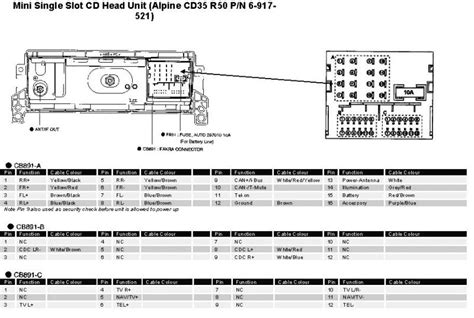 Navigation Audio Pinout For Head Unit North