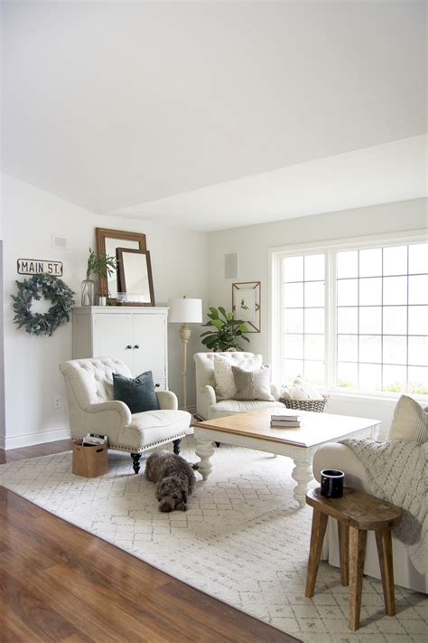 farmhouse living room furniture layout grace   space