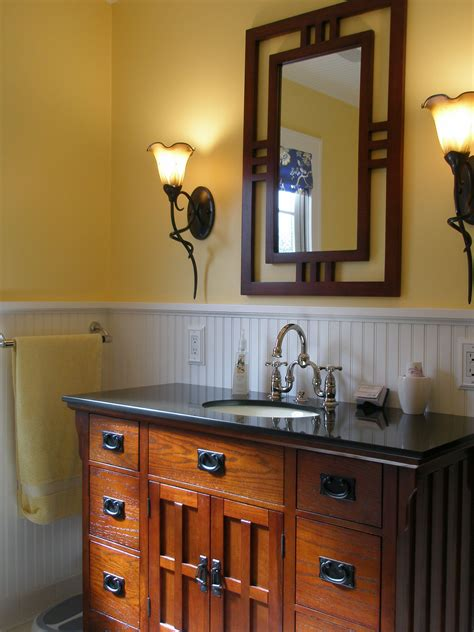 Bathroom Craftsman Vanitymirror Not Just The Loo