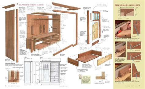 furniture construction drawings images woodworking plans