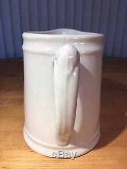 antique royal ironstone china pitcher johnson bros england