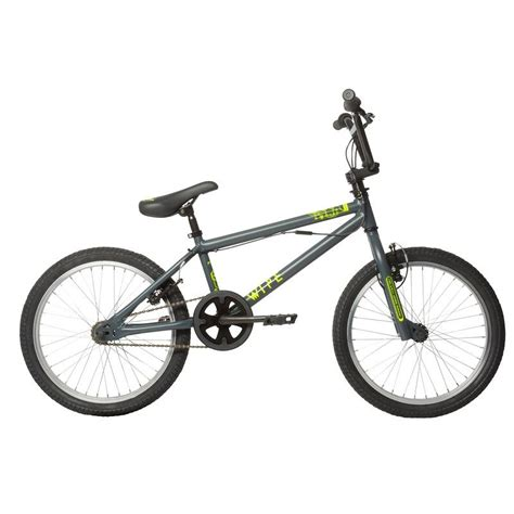wipe 300 bmx grey decathlon