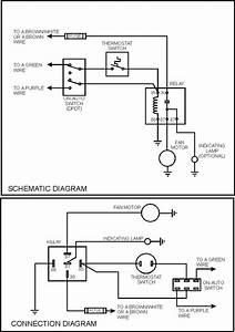 Cooling Fan Wiring - Wiring Diagrams Hubs