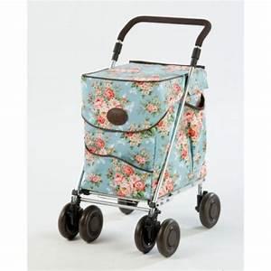 Chariot De Course Leclerc : chariot de course pousser sholeco motif floral ~ Dailycaller-alerts.com Idées de Décoration