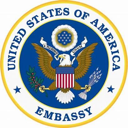 Embassy States United Wikipedia Kiev Seal America