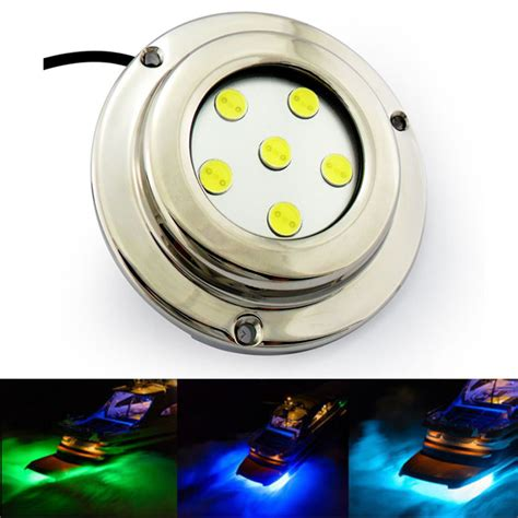 390lm brightness 12 volt led marine light blue dc 12v
