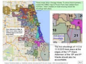 Ward Map Chicago Police Districts