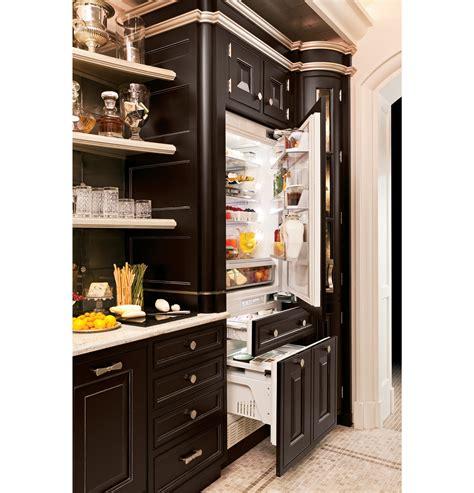 monogram  integrated customizable refrigerator  single  dual installation zicgndii