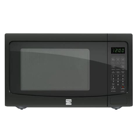 kenmore countertop microwave kenmore 72129 1 2 cu ft countertop microwave w ez clean