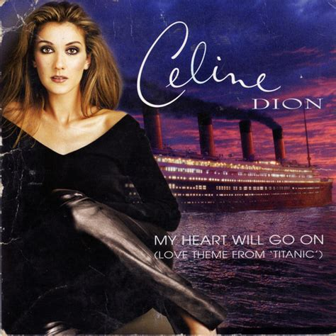 cã line dion my will go on pin celinedion lyrics celine dion my heart will go on on