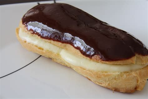 cuisine shmith eclairs with chocolate peppermint ganache recipe