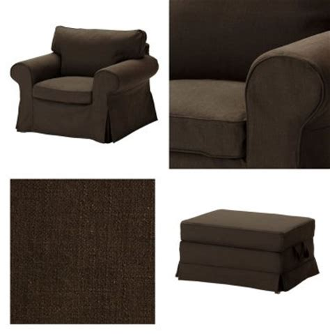 ikea ektorp ottoman cover ikea ektorp armchair and bromma footstool cover chair ottoman slipcover svanby brown