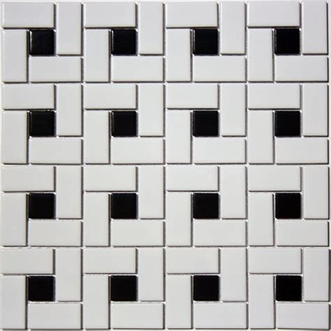 black and white mosaic black and white mosaic tile