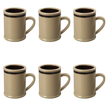 Wholesale coffee mugs available in low bulk and discounted prices. 6 Carlisle 8oz Rustic Tan Resin Plastic Coffee Mug Wholesale Bulk Lot Restaurant - Walmart.com