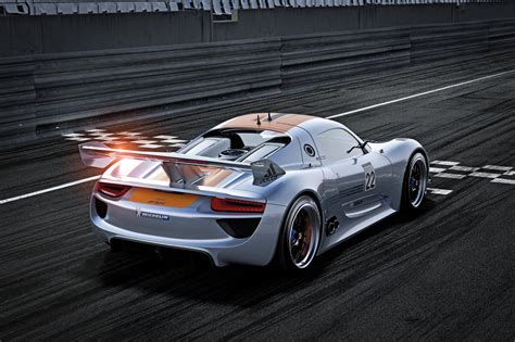 porsche hybrid sports car   rsr