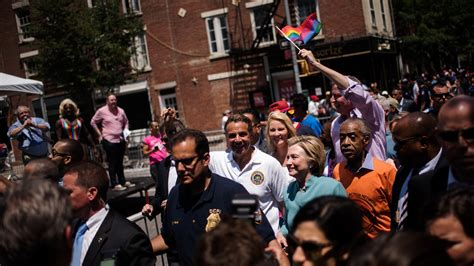 Hillary Clinton Surprises By Attending Pride Parade In New