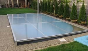 Fabriquer Un Abri De Piscine : abri de piscine plat amovible d montable abris piscine ~ Zukunftsfamilie.com Idées de Décoration