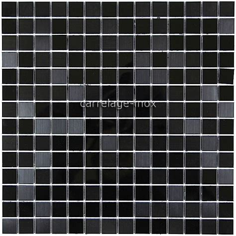carrelage cuisine noir carrelage inox mosaique inox credence faience miroir noir mix