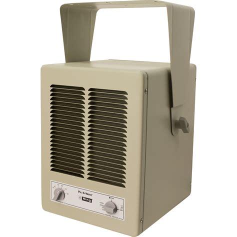 King Electric Picawatt Garageworkshop Heater — 13,000