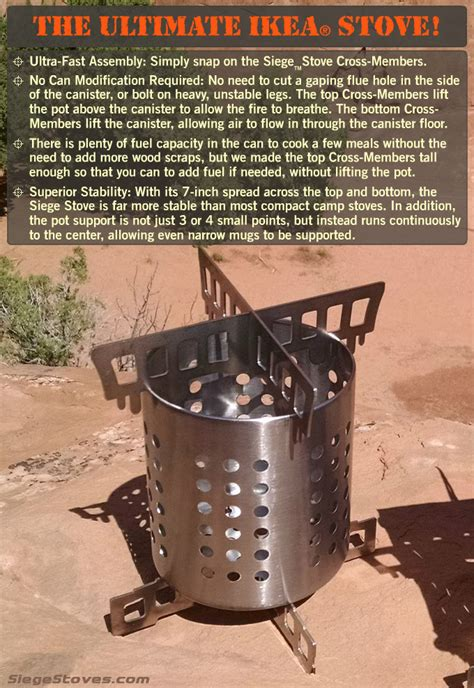 ikea siege the portable cing and survival stoves