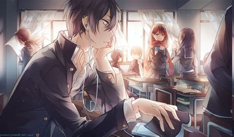 Anime School Hd Wallpaper - anime school kagerou project enomoto takane