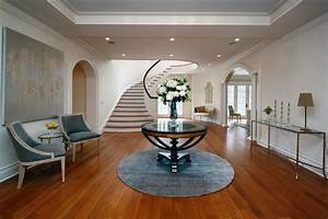 Modern Round Foyer Table — STABBEDINBACK Foyer