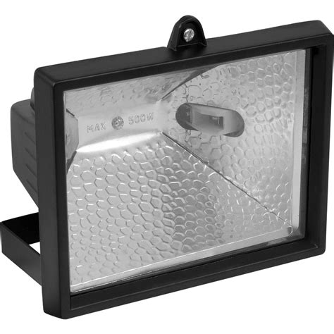 halogen floodlight 500w white toolstation