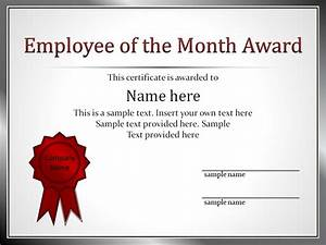 employee award certificate templates With employee recognition awards templates