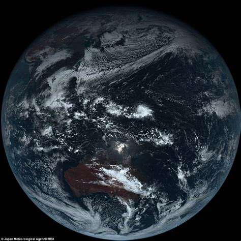 The Grey Planet True Colour Image Reveals What Earth