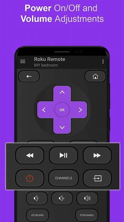 Roku Remote Control Screenshots App Tv Android
