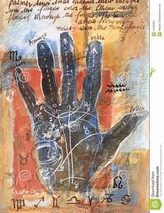 Label Hand Diagram