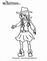 Coloring Cowgirl Printable Colouring Sheet Worksheets Cow Sheets Coloringprintables Printables Boots Word Colorings Olds Colo sketch template