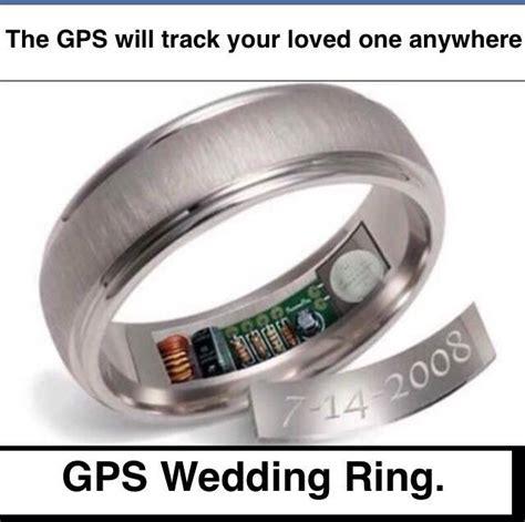 funny gps wedding ring funny wedding rings engagement rings wedding ring finger