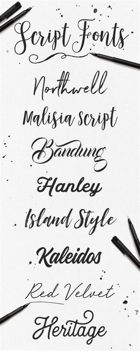 70 best script fonts images on pinterest typography script fonts and handwriting fonts