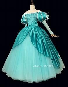 P395 Ariel mermaid Cosplay Costume Dress tailor made women ...