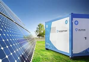 Energy storage, management algorithms at heart of Alfen's ...